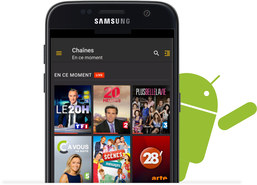 application gratuite pour android samsung