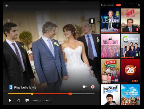 Programmes télé sur Android