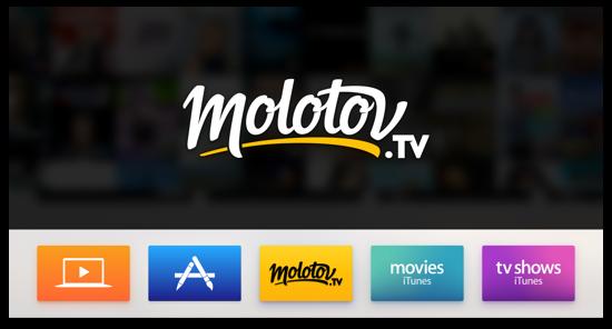 Télécharger Molotov pour Apple TV