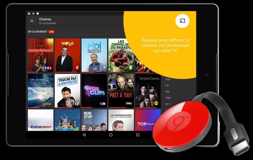 Regarder sur votre TV avec Google Cast