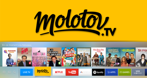 Télécharger Molotov sur TV Samsung