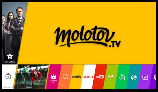 Télécharger Molotov pour TV LG