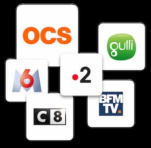 Chaînes télé disponibles sur ordinateur
