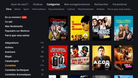 Programmes pour TV LG