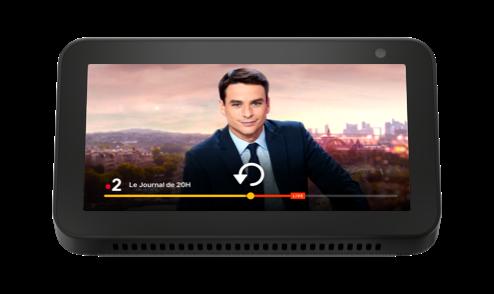 Programmes télé sur Amazon Echo Show