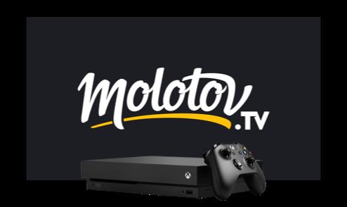 Regarder Molotov sur console Xbox