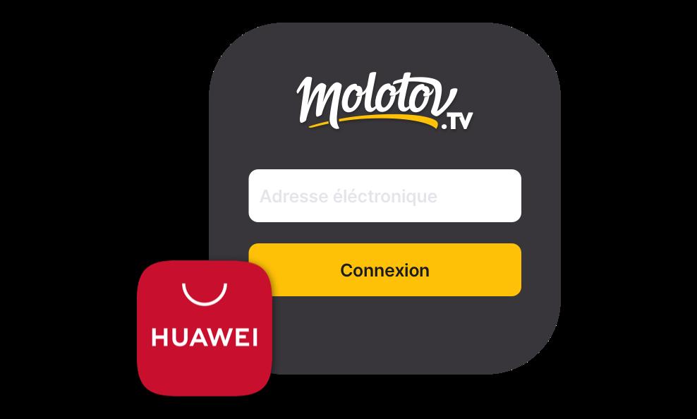 Comment fonctionne l'appli Molotov sur votre smartphone ou votre tablette Huawei ?