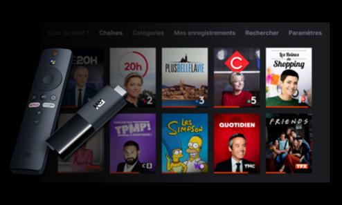 Molotov sur Xiaomi TV Stick