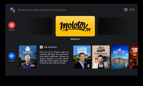 Regarder Molotov sur Xiaomi TV Stick