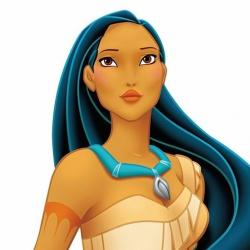 Pocahontas - Personnage d'animation