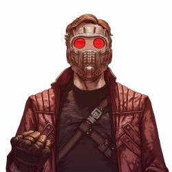 Star-Lord - Personnage d'animation