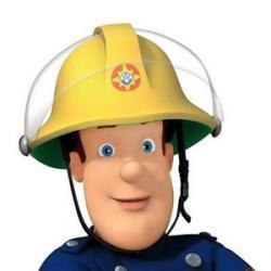 Sam le pompier - Personnage de fiction