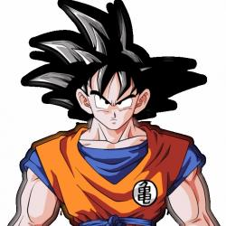 Son Goku - Personnage d'animation