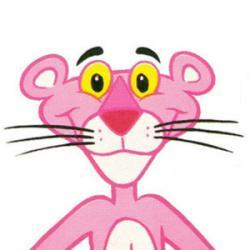 La panthère rose - Personnage d'animation