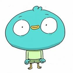 Harvey Beaks - Personnage d'animation