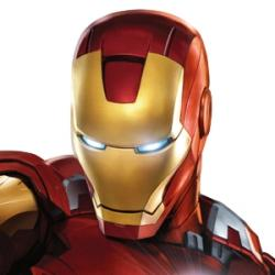 Iron man - Personnage d'animation