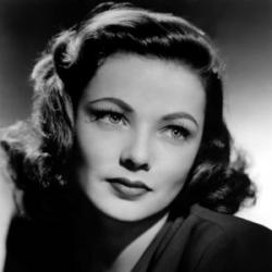 Gene Tierney - Actrice