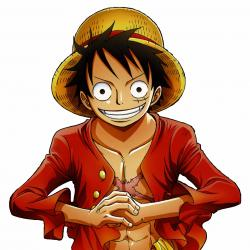 Monkey D. Luffy - Personnage d'animation