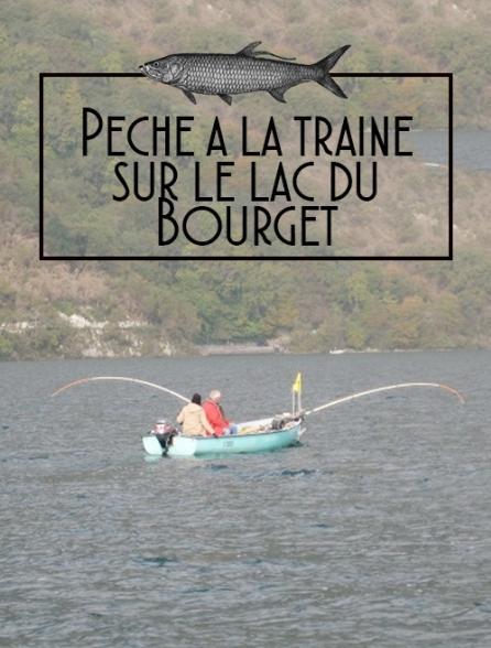 Pêche à la traîne sur le lac du Bourget