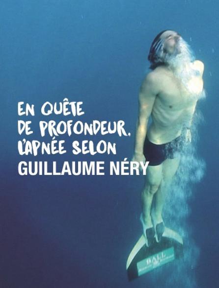En quête de profondeur, l'apnée selon Guillaume Néry